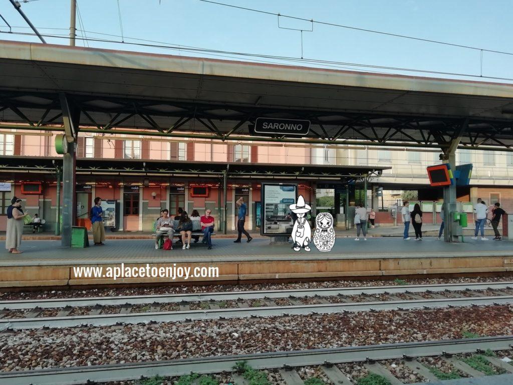 Saronno station, Italy