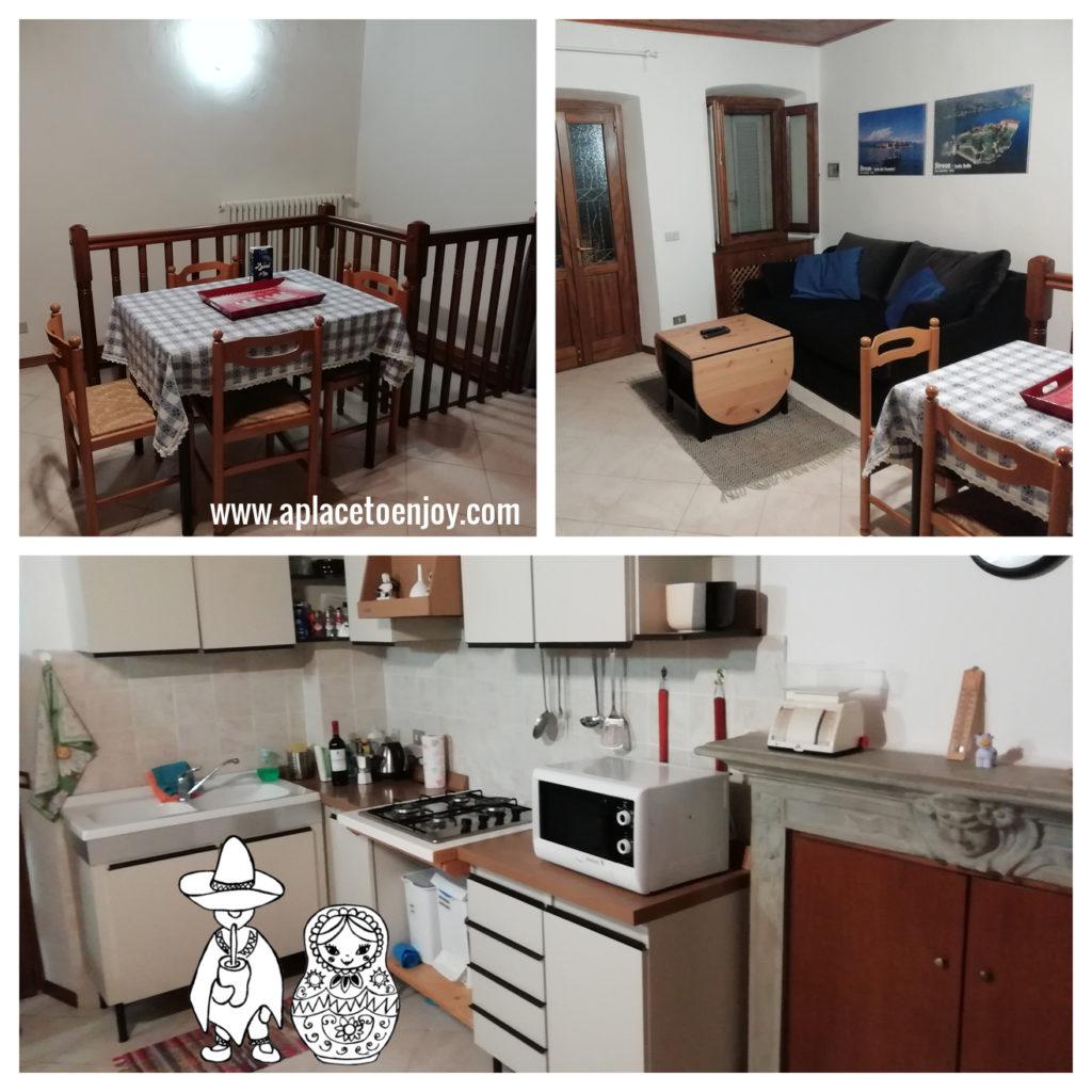 Our two-levels apartment in Laveno-Mombello