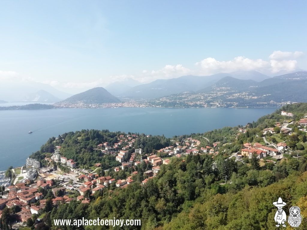 Laveno-Mombello, Italy, from cable cars