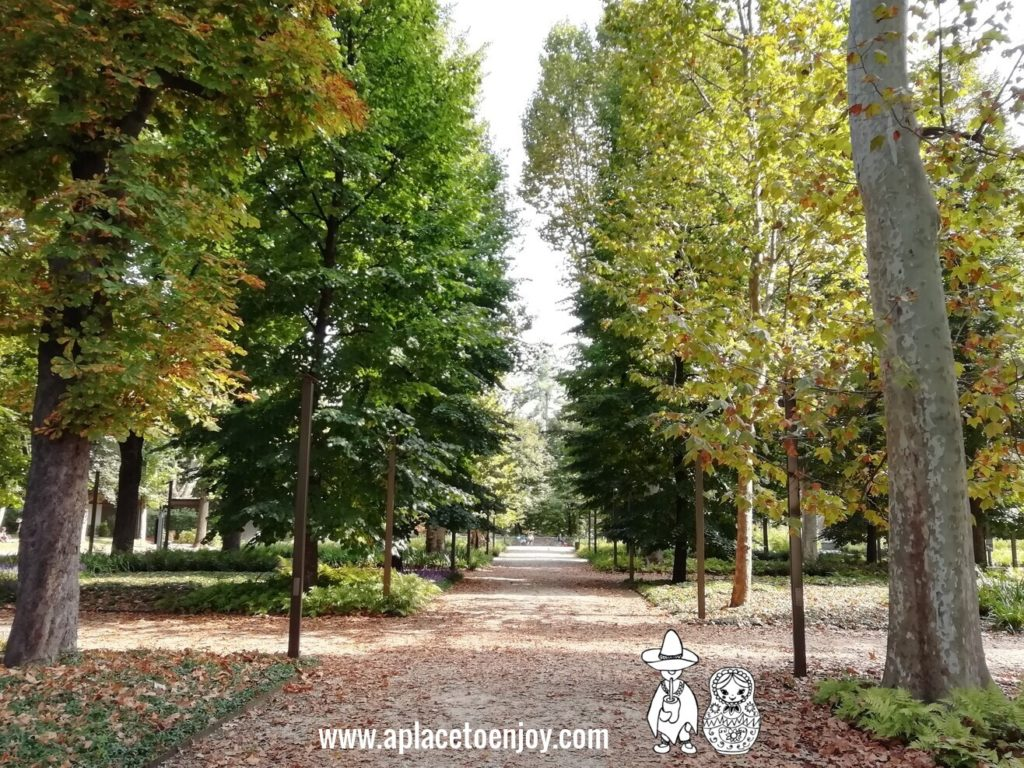 Royal Garden, Turin, Italy