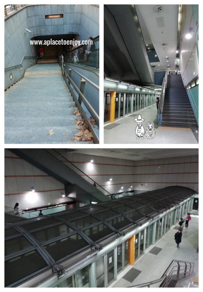 Metro in Turin, Italy
