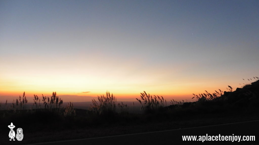 Закат в горах Altas Cumbres, Кордова, Аргентина