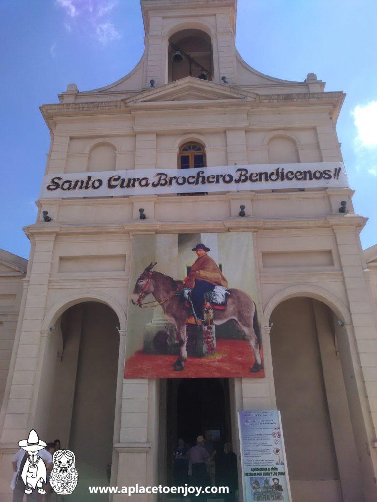 The church of Nuestra Señora del Tránsito y Santo Cura Brochero