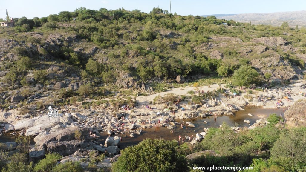 Mina Clavero river