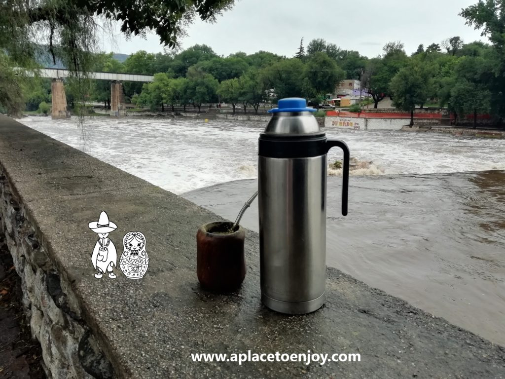 Mate at the Cosquin River, Cordoba, Argentina