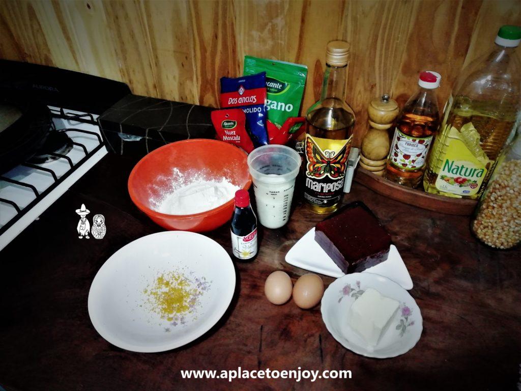 Ингредиенты для Пасты фрола