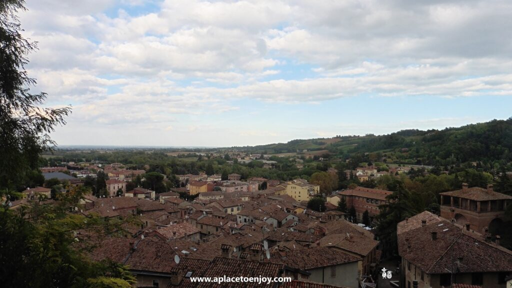 A view from the Castell'Arcuato