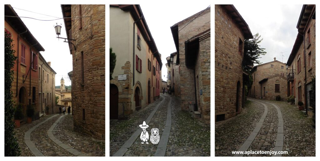 Streets of the Castell'Arcuato